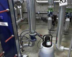 Химическая безразборная промывка теплообменников в ИТП Отрадное