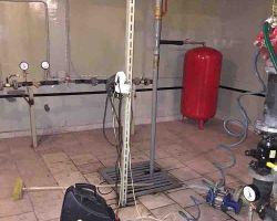 Промывка системы отопления гидропневматическим способом в детских садах
